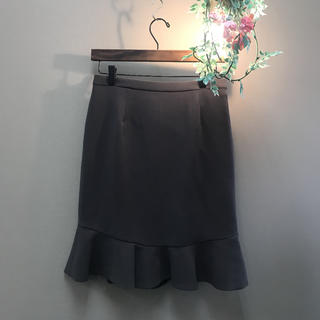 ジュンコシマダ(JUNKO SHIMADA)のJUNKO SHIMADA ジュンコシマダ 裾フレアスカート(ミニスカート)