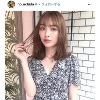 snidel - 新品✳︎snidel 大人気 リバティ ワンピース 内田理央着用