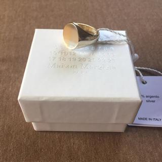 Maison Martin Margiela - 18AW新品M メゾンマルジェラ ツートーン リング オーバル 指輪 メンズ