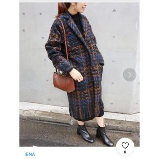 IENA - ◆【2017AW】IENA エミンポール チェックツイードコート