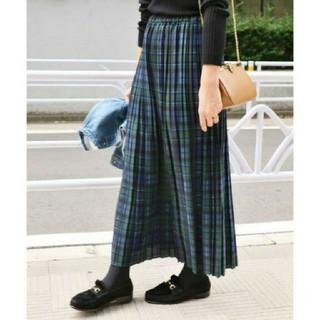 IENA - イエナ♡チェックプリーツスカート 38