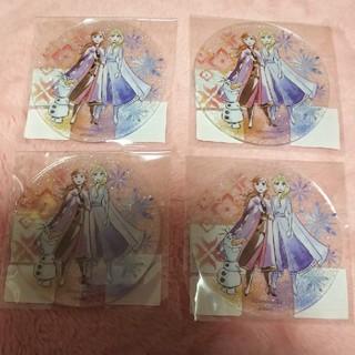 アナトユキノジョオウ(アナと雪の女王)のアナと雪の女王 アクリルコースター4枚セット★(テーブル用品)