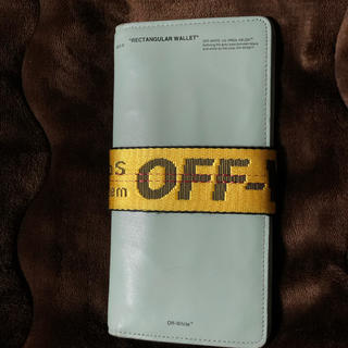 OFF-WHITE - off-white オフホワイト 17ss wallet 財布 ウォレット