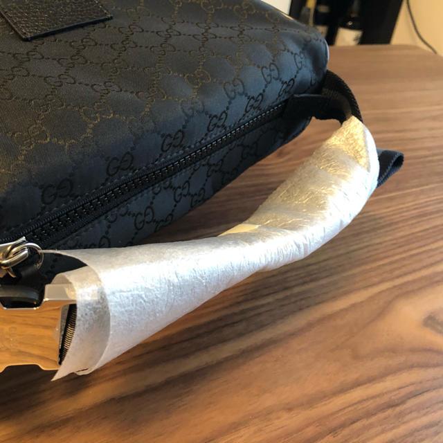 Gucci(グッチ)のグッチ GUCCI バッグ ショルダー キャンバス ウエスト ボディー バッグ メンズのバッグ(ボディーバッグ)の商品写真
