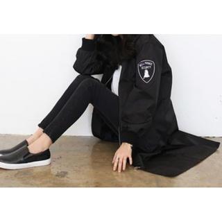 ☆残りわずか☆ 韓国ファッション ストリート系 秋コーデ ロング丈 MA-1 (ブルゾン)