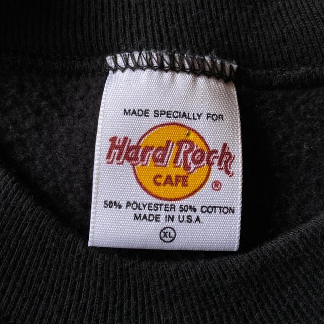 ハードロックカフェ hard rock cafe トレーナー スウェット 90s メンズのトップス(スウェット)の商品写真