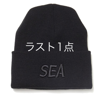 Ron Herman - WIND AND SEA KNIT BEANIE BLACK ニット 新品