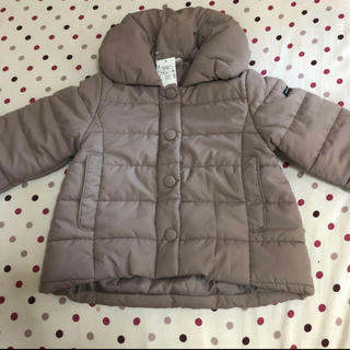 petit main - プティマイン  今季 袖 リブ 中綿 ジャケット 130 コート