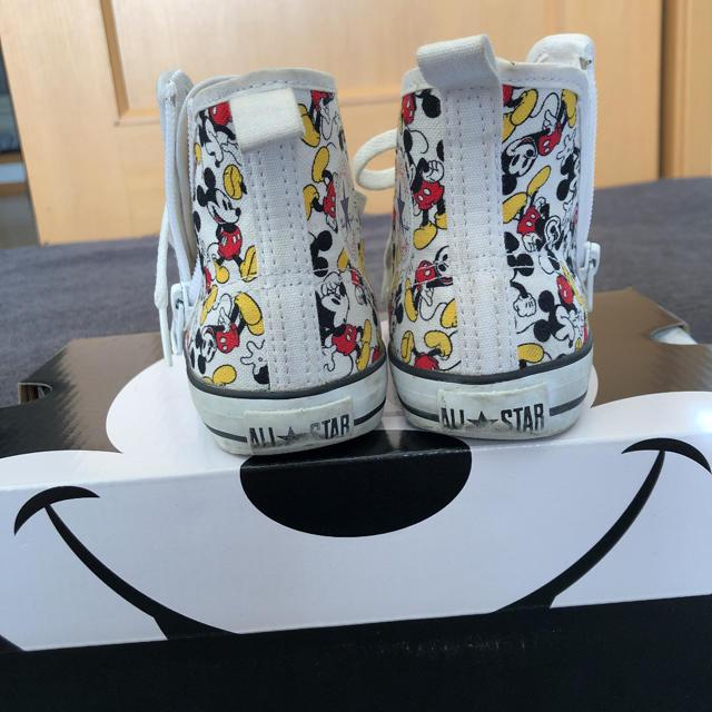 CONVERSE(コンバース)のミッキーコンバース キッズ/ベビー/マタニティのキッズ靴/シューズ(15cm~)(スニーカー)の商品写真