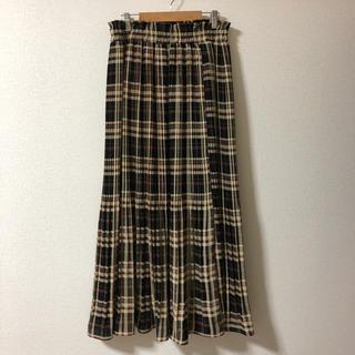 WEGO - チェックプリーツスカート
