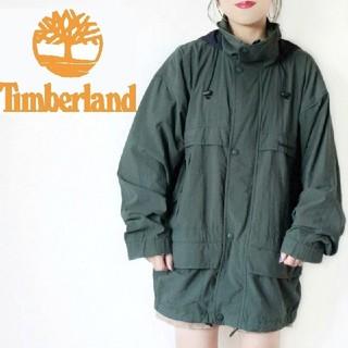 ティンバーランド(Timberland)の【大人気!】90s Timberland カーキ マウンテンパーカー ジャケット(ナイロンジャケット)