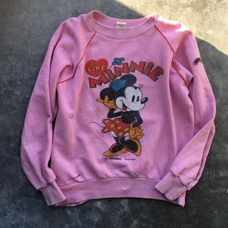 サンタモニカ(Santa Monica)の古着 vintage ヴィンテージ ミニー スウェット トレーナー(Tシャツ/カットソー)