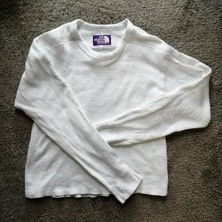 ザノースフェイス(THE NORTH FACE)のThe North Face purple label ワッフルカットソー(カットソー(長袖/七分))