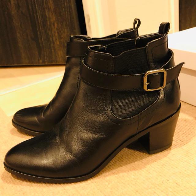 DIANA(ダイアナ)のダイアナDIANAベルト取り外しショートゴアブーティー レディースの靴/シューズ(ブーティ)の商品写真