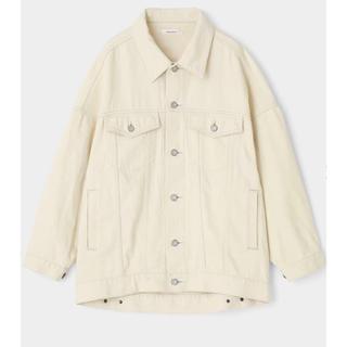 moussy - MOUSSY BIG DENIM ジャケット ホワイト