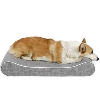 高齢ペットにおススメ!高反発ウレタンクッション グレー R040(犬)