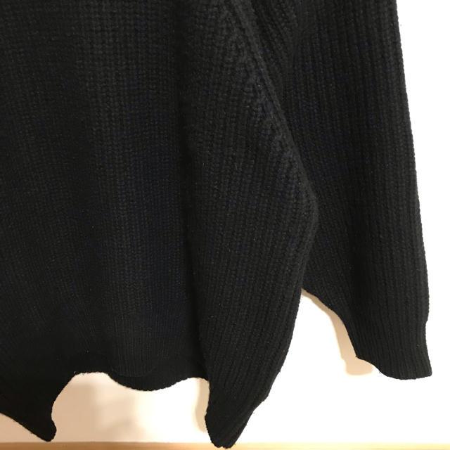 IENA SLOBE(イエナスローブ)のSLOBE IENA イエナスローブ ニット ブラック レディースのトップス(ニット/セーター)の商品写真