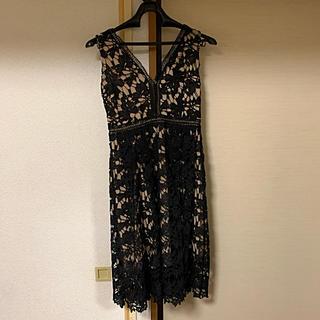 GRACE CONTINENTAL - ブラック ドレス