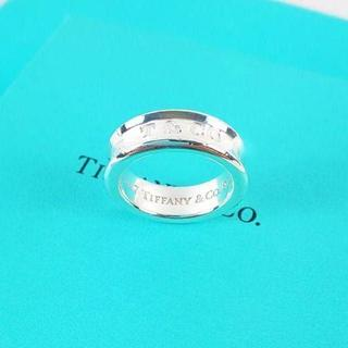 ティファニー(Tiffany & Co.)の☆新品☆未使用☆ティファニー 1837ロゴリング 12号(リング(指輪))