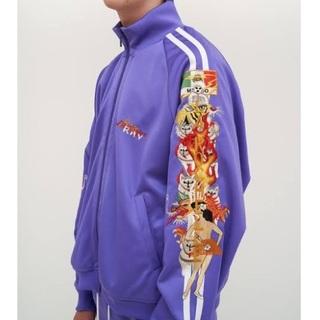 コムデギャルソン(COMME des GARCONS)のdoublet  カオス刺繍 ジャケット(ジャージ)
