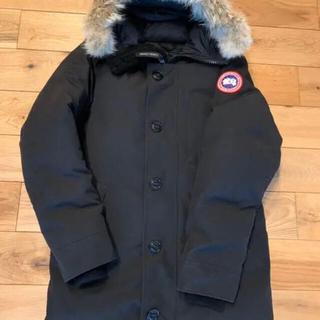 カナダグース(CANADA GOOSE)の美品 カナダグース ジャスパー 黒 ブラック サイズS(ダウンジャケット)