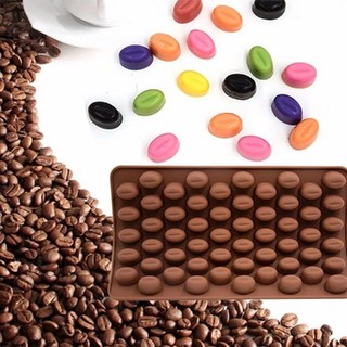 コーヒー豆型✨シリコンモールド(各種パーツ)
