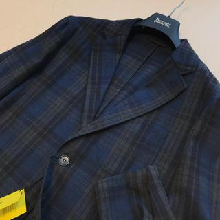 BEAMS - 新品未使用★ジャンネット コットン 起毛 シャツジャケット チェック柄★44 S