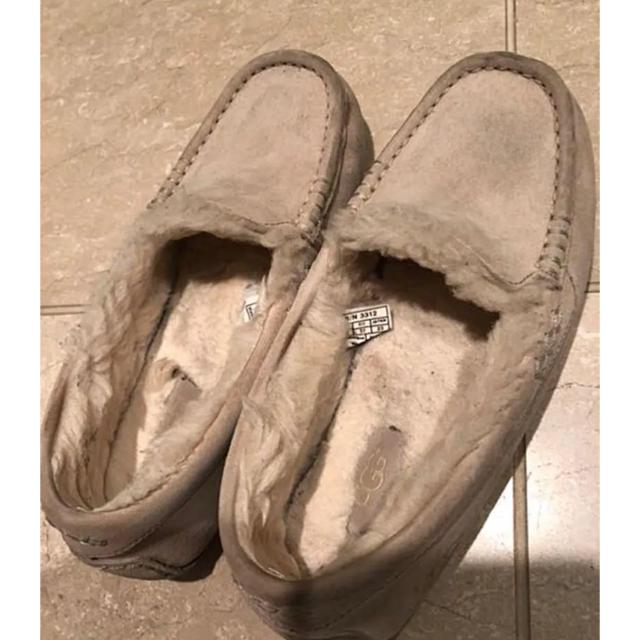 UGG(アグ)の【値下げ】UGG アンスレー ベージュ 23cm レディースの靴/シューズ(スリッポン/モカシン)の商品写真