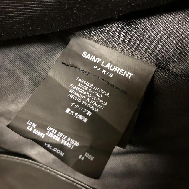 Saint Laurent(サンローラン)のサンローラン 13ss  L01 ライダース  ジャケット レザー メンズのジャケット/アウター(ライダースジャケット)の商品写真
