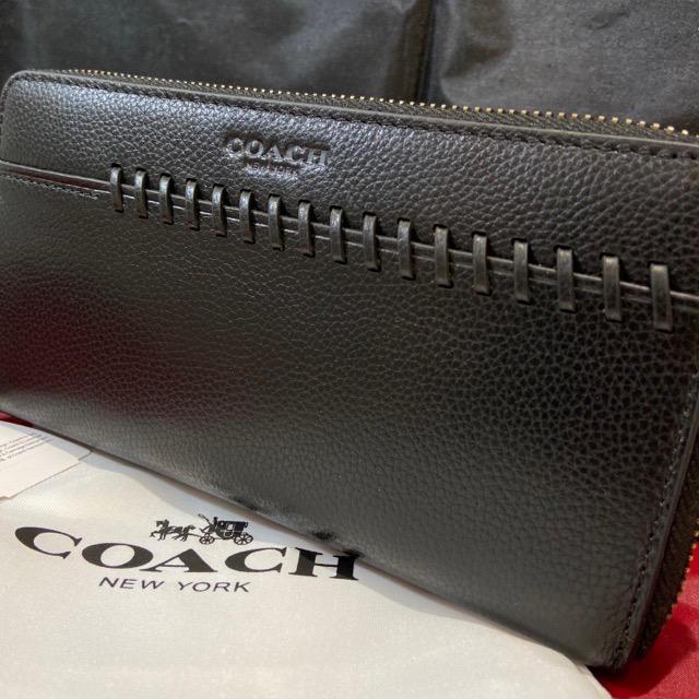 COACH(コーチ)のプレゼントにも❤️新品コーチ正規品 大人の逸品BBステッチ 本革 長財布 メンズのファッション小物(長財布)の商品写真