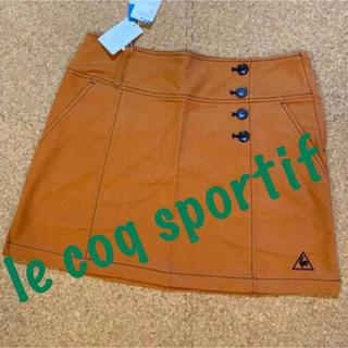 le coq sportif - 新品■10,890円【 ルコック 】 スカート M  9号 ブラウン