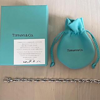 Tiffany & Co. - ティファニー ハードウェア リンクブレスレット Mサイズ TIFFANY&Co