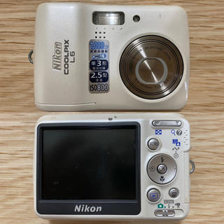 ニコン(Nikon)のNikon COOLPIX L6(コンパクトデジタルカメラ)