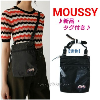 moussy - BLK SACOCHE♡MOUSSYマウジーmoussy 新品 タグ付き