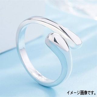 シルバー925 ティアドロップリング 指輪(リング(指輪))