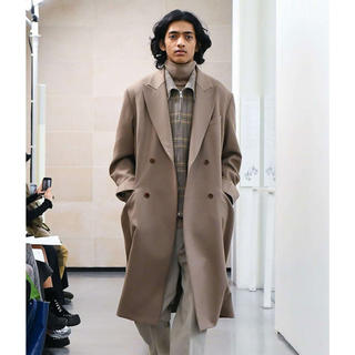 【タグ付き】 AURALEE MELTON DOUBLE COAT ブラウン 3