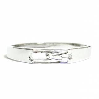 11号 イニシャル M アルファベット シルバーリング(リング(指輪))