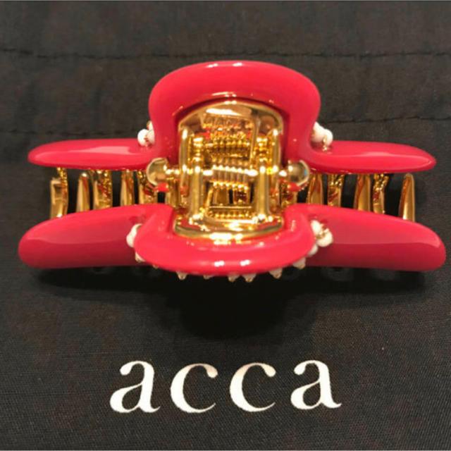 acca(アッカ)のacca ヘアクリップ(中) ダブルカテーナ / アッカ レディースのヘアアクセサリー(バレッタ/ヘアクリップ)の商品写真