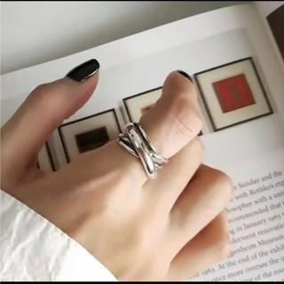 トゥデイフル(TODAYFUL)の大人気なため再入荷!tear drop ring silver925 (リング(指輪))
