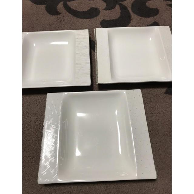 NIKKO(ニッコー)の最終値下げ!DEVA FINE BONE CHINA 3枚セット インテリア/住まい/日用品のキッチン/食器(食器)の商品写真