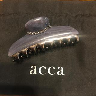 アッカ(acca)のacca ヘアクリップ(中) 限定色ニューコラーナ / アッカ(バレッタ/ヘアクリップ)