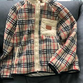 BURBERRY - Burberry Reversible Fleece Jacket M