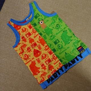 パーティーパーティー(PARTYPARTY)の★used★120サイズ★パーティーパーティー★モンスターズインク★タンクトップ(Tシャツ/カットソー)