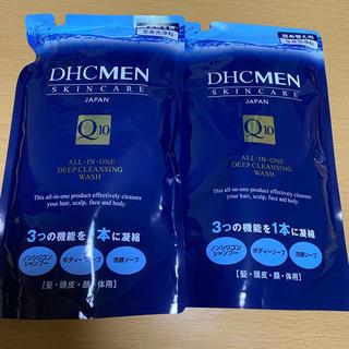 ディーエイチシー(DHC)のDHC MENオールインワンディープクレンジングウォッシュ詰め替え用2つ(その他)