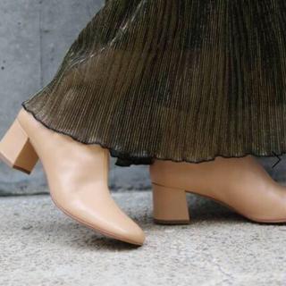 IENA SLOBE - SLOBE IENA 【MOHI/モヒ】 LEATHER ブーツ