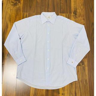 エルメス(Hermes)のエルメス HERMES 長袖 シャツ セリエ ボタン ドレスシャツ Yシャツ(シャツ)