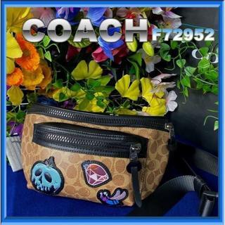 コーチ(COACH)のCOACH白雪姫クロスボディ テレイン ベルト バッグ(ボディバッグ/ウエストポーチ)