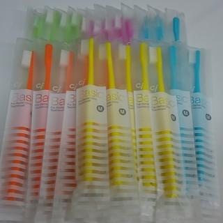 30本 歯科専売歯ブラシCiベーシック フラット毛 大人用 日本製