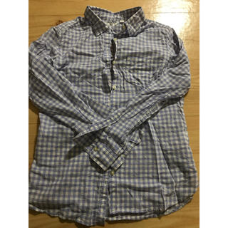 ユニクロ(UNIQLO)のチェックシャツ(シャツ/ブラウス(長袖/七分))