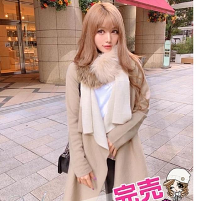 Rady(レディー)のRady♡新品未使用 ファーティペット ベージュ レディースのファッション小物(マフラー/ショール)の商品写真